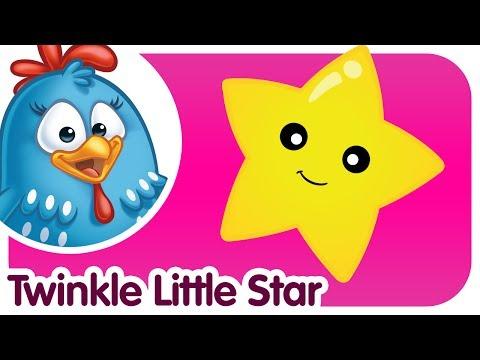 Twinkle Twinkle Little Star - Lottie Dottie Chicken - Kids songs and nursery rhymes in english