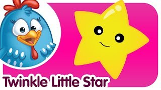 Twinkle Twinkle Little Star - Lottie Dottie Chicken - Kids songs and nursery rhymes in english thumbnail