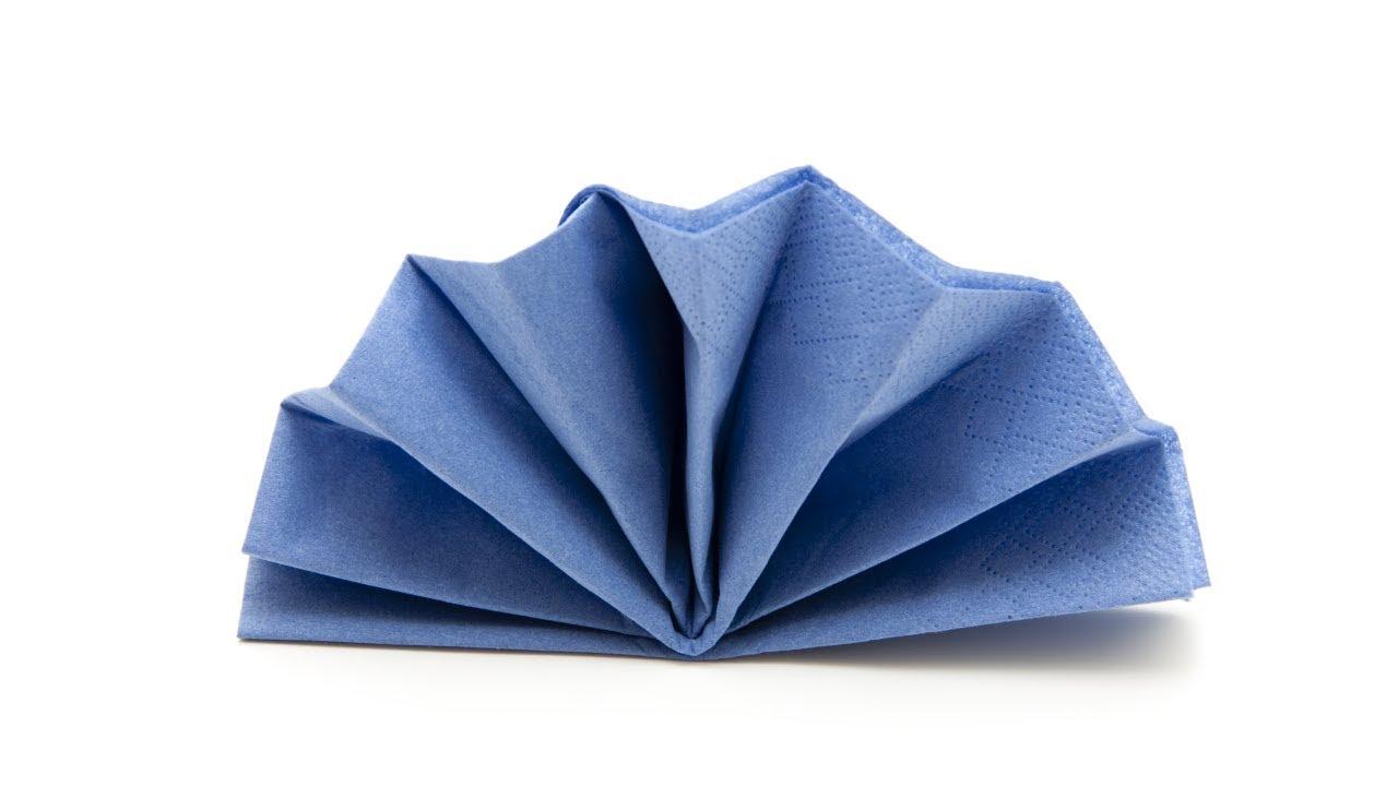 ᐅᐅservietten Falten Fächer Anleitung Einfach Papierservietten