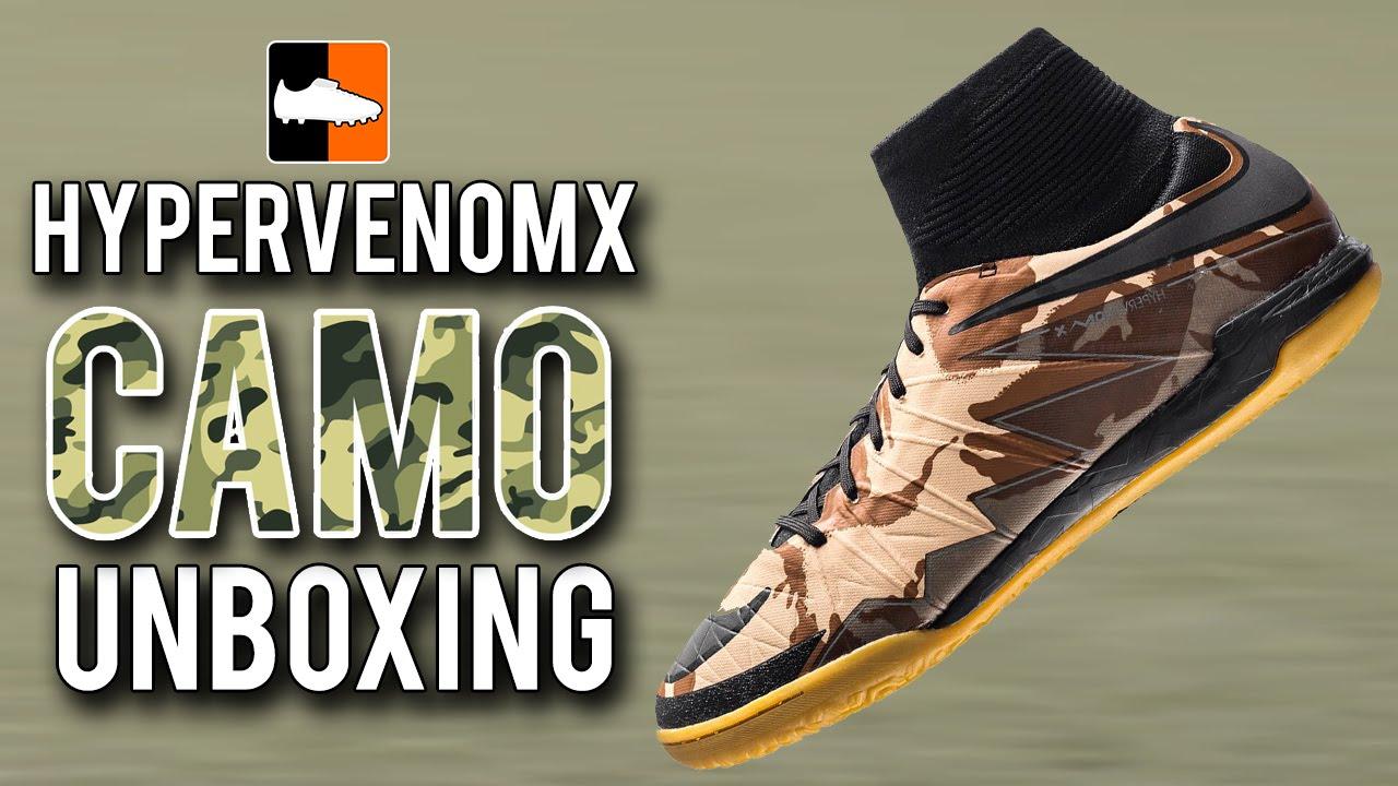 Camo HypervenomX Proximo Unboxing | Nike FootballX IC & Turf Shoes