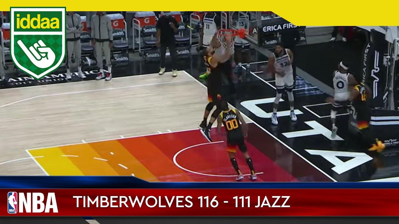 Minnesota Timberwolves – Utah Jazz Maç Özeti