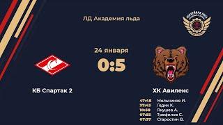 Фото КБ Спартак 2 - ХК Авилекс. Обзор матча
