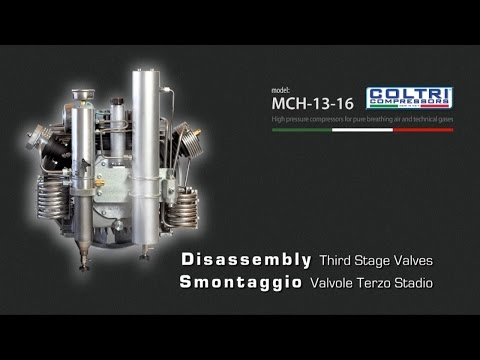 DISASSEMBLY THIRD STAGE VALVES