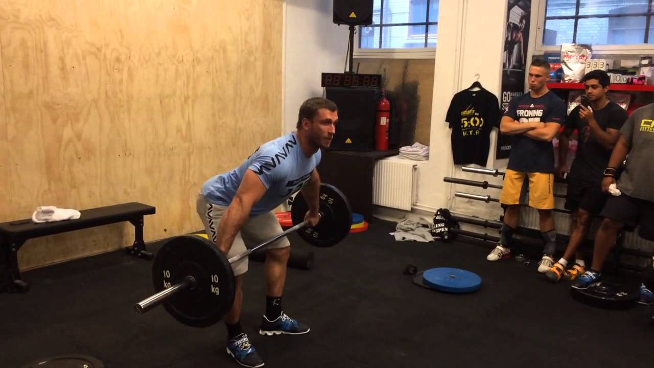 Klokov paused snatch High pull