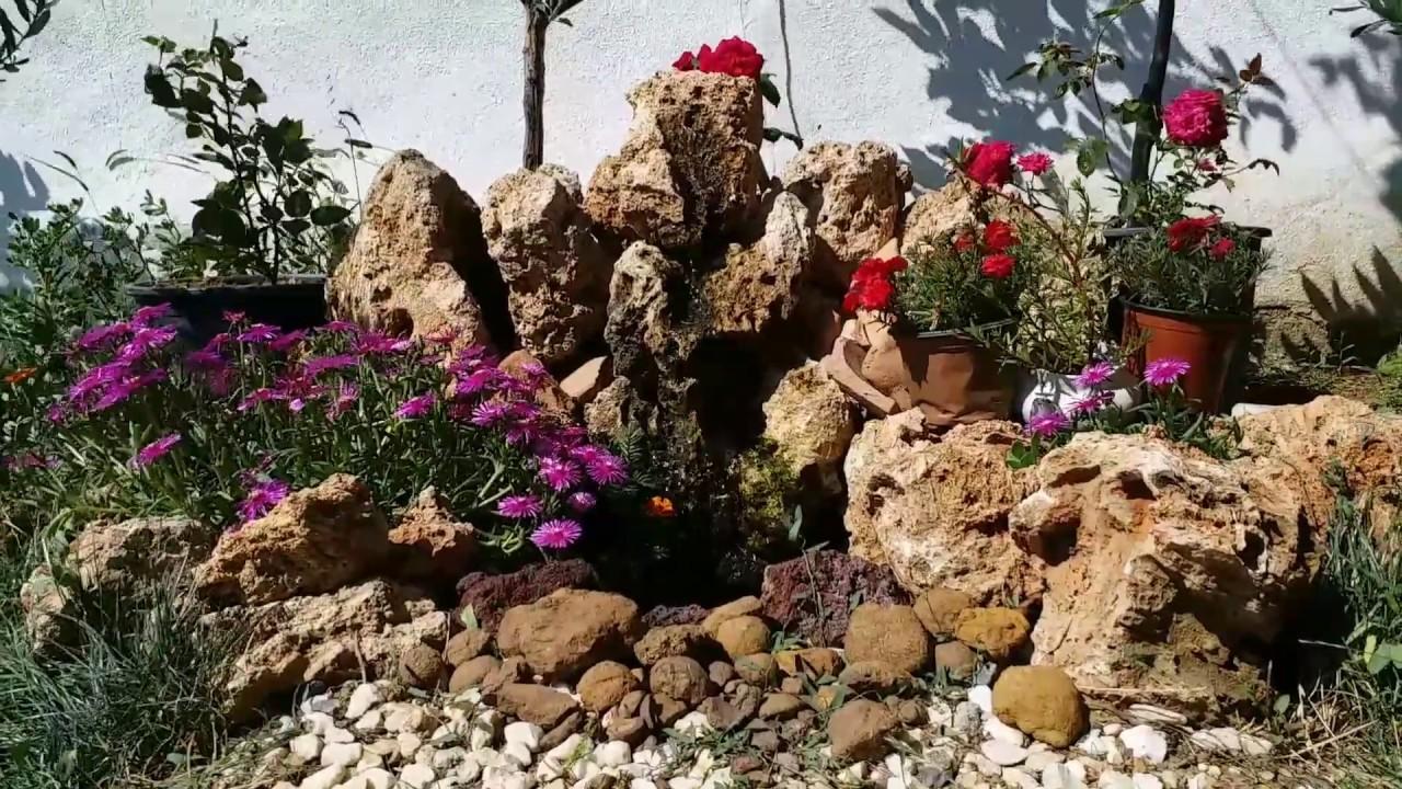 DIY Waterfall Fountain For Home Garden