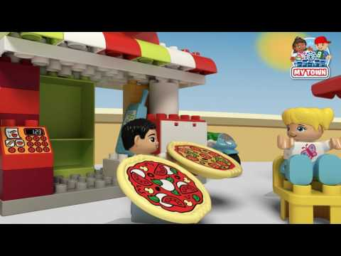 My Town Pizzeria - LEGO DUPLO - 10834 - Product Animation