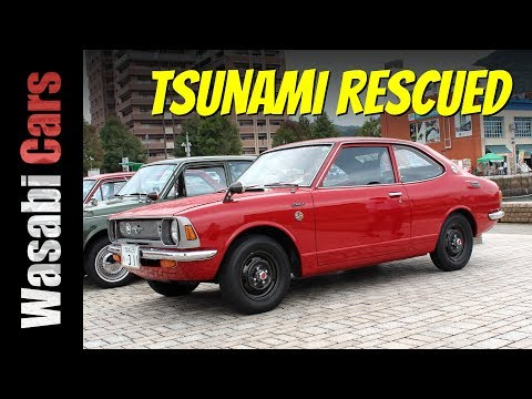 Tsunami, Fire Damaged, But Restored: 1971 Toyota Corolla 1400 SR