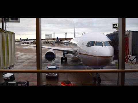 UNITED AIRLINES | B767-300ER | CHICAGO - BRUSSELS | ECONOMY CLASS