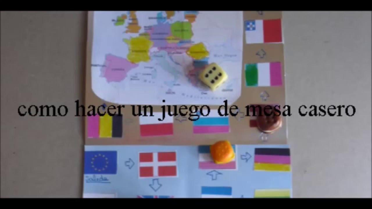 Como Hacer Un Juego De Mesa Casero Viaje Por Europa Hd Youtube