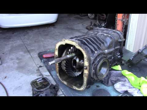 looking in side a 091 vw gear box