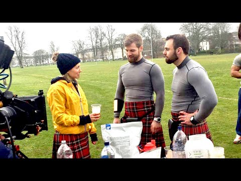 Channel 4 Superfoods with the Kilted Coaches