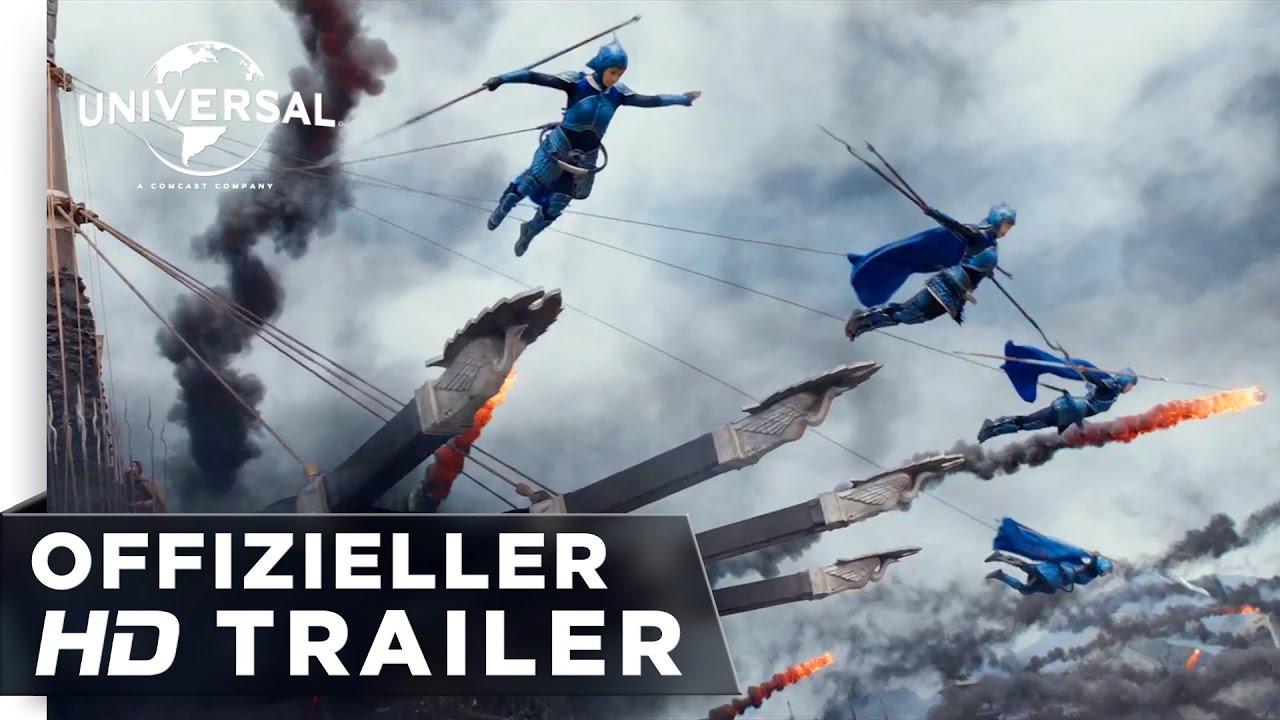 Download The Great Wall - Trailer #2 german / deutsch HD