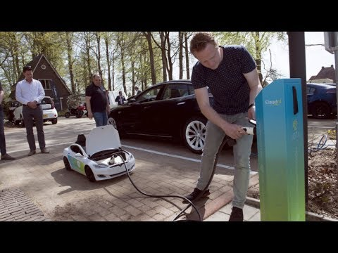 World's first CRYPTO Charging Station- IOTA