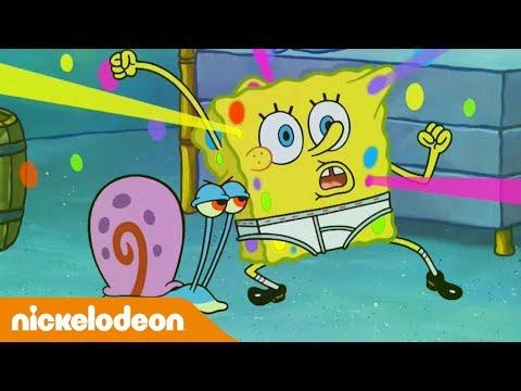 Губка Боб Квадратные Штаны | Домашняя вечеринка | Nickelodeon Россия