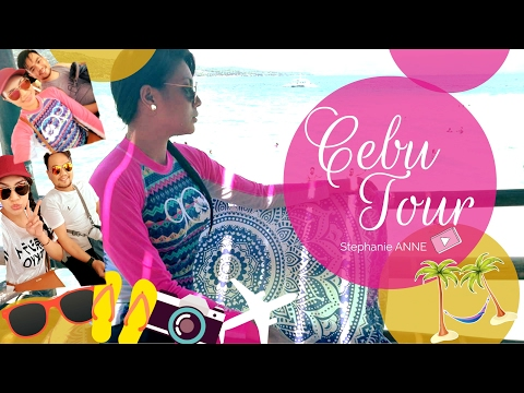 TRAVEL VLOG: CEBU TOUR Day 1 - Day 3 Pinay Backpacking | Stephanie ANNE