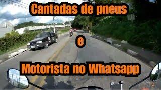 Pop 110i - Cantadas de pneu e motorista no Whatsapp