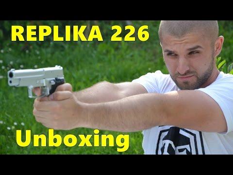 Nova Igracka Pistolj 226 Replikaunboxing Youtube