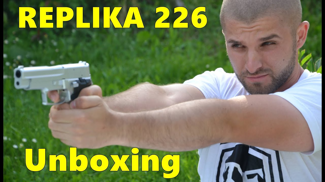 Nova Igracka Pistolj 226 Replikaunboxing
