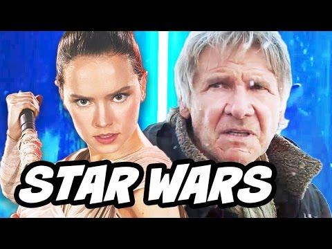 Star Wars The Force Awakens Rey Han Solo Clip Breakdown