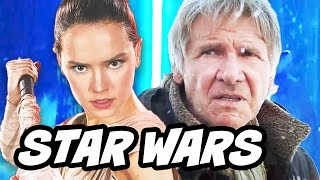 Star Wars The Force Awakens Rey Han Solo Clip Breakdown