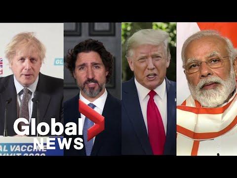 Coronavirus outbreak: World leaders raise billions for global vaccine alliance during summit