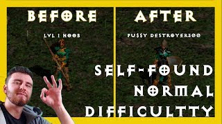 Self Found Sorceress Guide - SC & HC Normal diff. - Diablo 2
