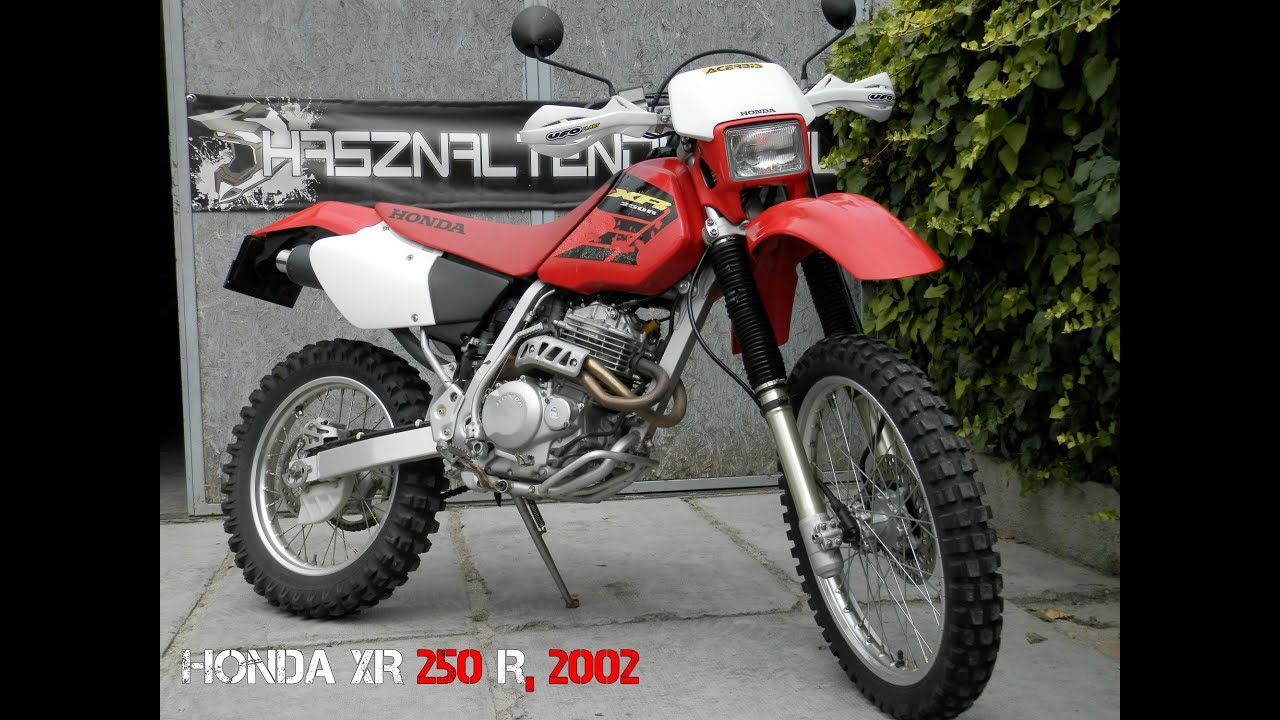 honda xr 250 r 2002 youtube. Black Bedroom Furniture Sets. Home Design Ideas