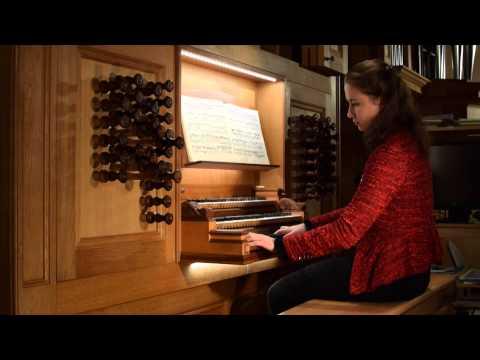 Johann Sebastian Bach: Pastorale BWV 590 - Olga Minkina, organ