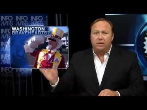 REDSKINS OFFICIALLY CHANGE RACIST NAME  ALEX JONES