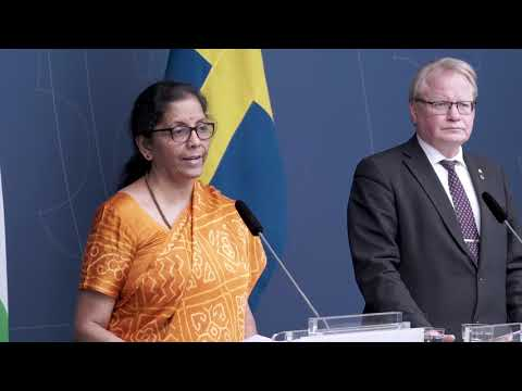 Signing of the General Security Agreement between India and Sweden on 13 February 2019 at Stockholm