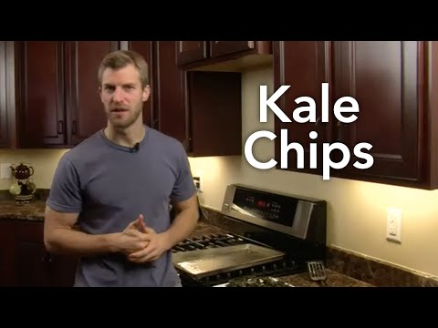 How to Make Kale Chips-Transform Your Kitchen-Episode #40