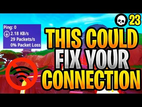 This Update Could FIX Your Fortnite Connection Problems! (Fortnite New Update 8.10 - Season 8)