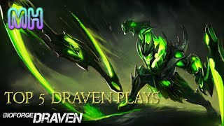 Top 5 Draven play highlight moment