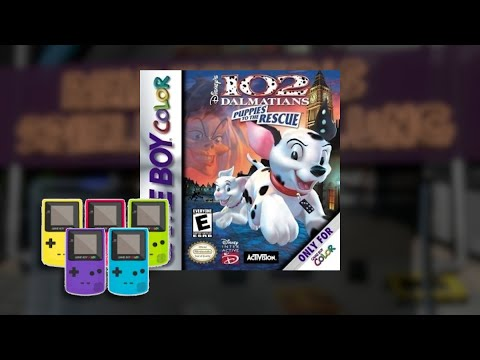 Gameplay : 102 Dalmatiner: Puppies to the Rescue [Gameboy Color]