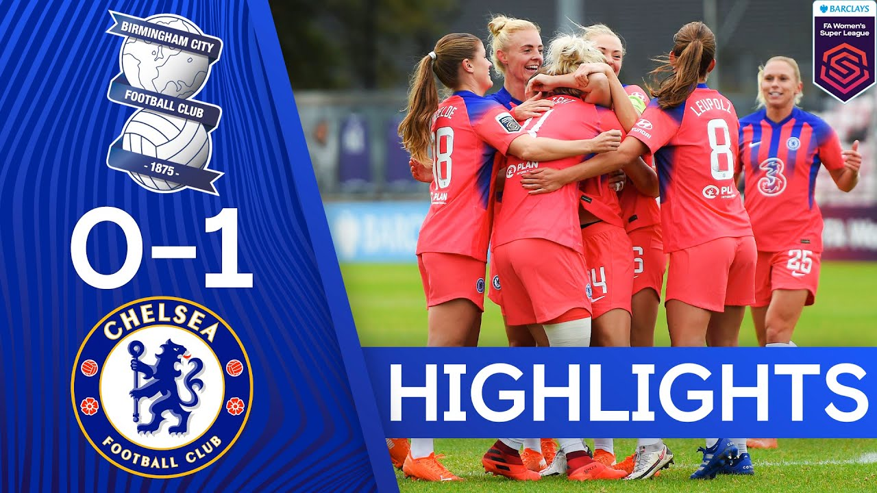 Birmingham 0-1 Chelsea | Superb Fran Kirby Header Secures Victory | Women's Super League Highlights