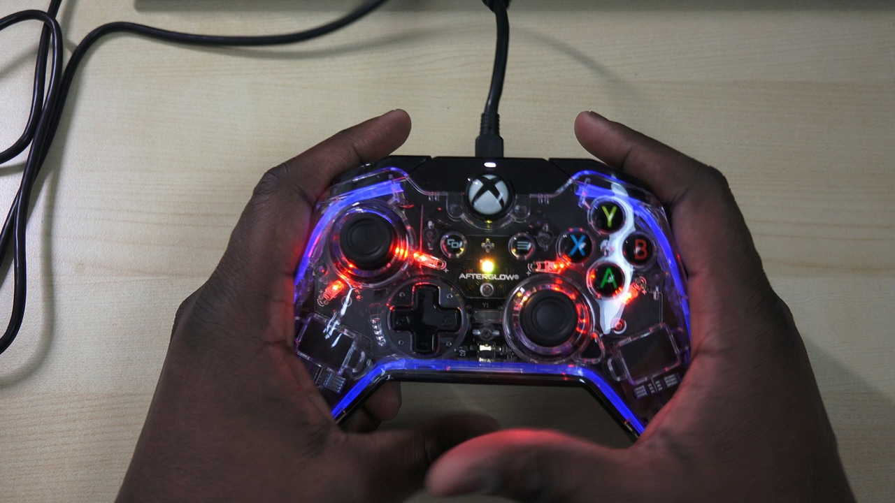 PDP Afterglow Xbox One Controller YouTube