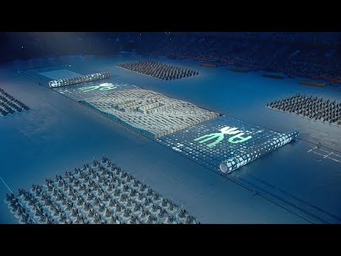 Confucianism, Movable Type Printing, Chinese Writing - Beijing 2008 olympics opening ceremony