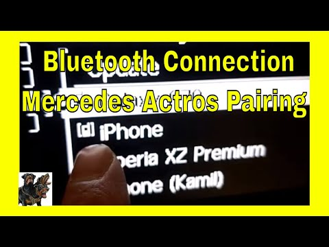 Mercedes Actros  - Bluetooth connection