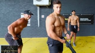 Upper Body + Functional Training Session -- Cracking Fitness FT. PROFIT Training Centre