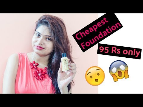 *NEW* Gala of London foundation review   Cheapest foundation in the world   #ReviewBySudeshna