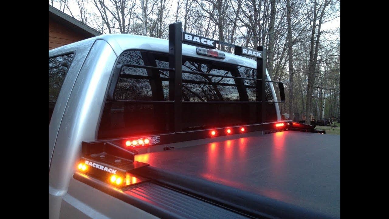 backrack upgrade installing led lights