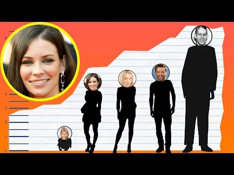 How Tall Is Evangeline Lilly