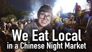 We Eat Local @ the Xishuangbanna Night Market // Dai People in China