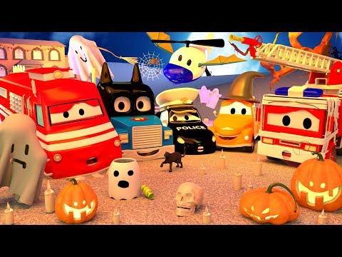 Dia das BRUXAS   🎃 Especial HALLOWEEN na Cidade do Carro 👻 Desenhos animados Halloween