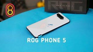 ASUS ROG Phone 5: ДВА экрана, 18 ГБ оперативки!