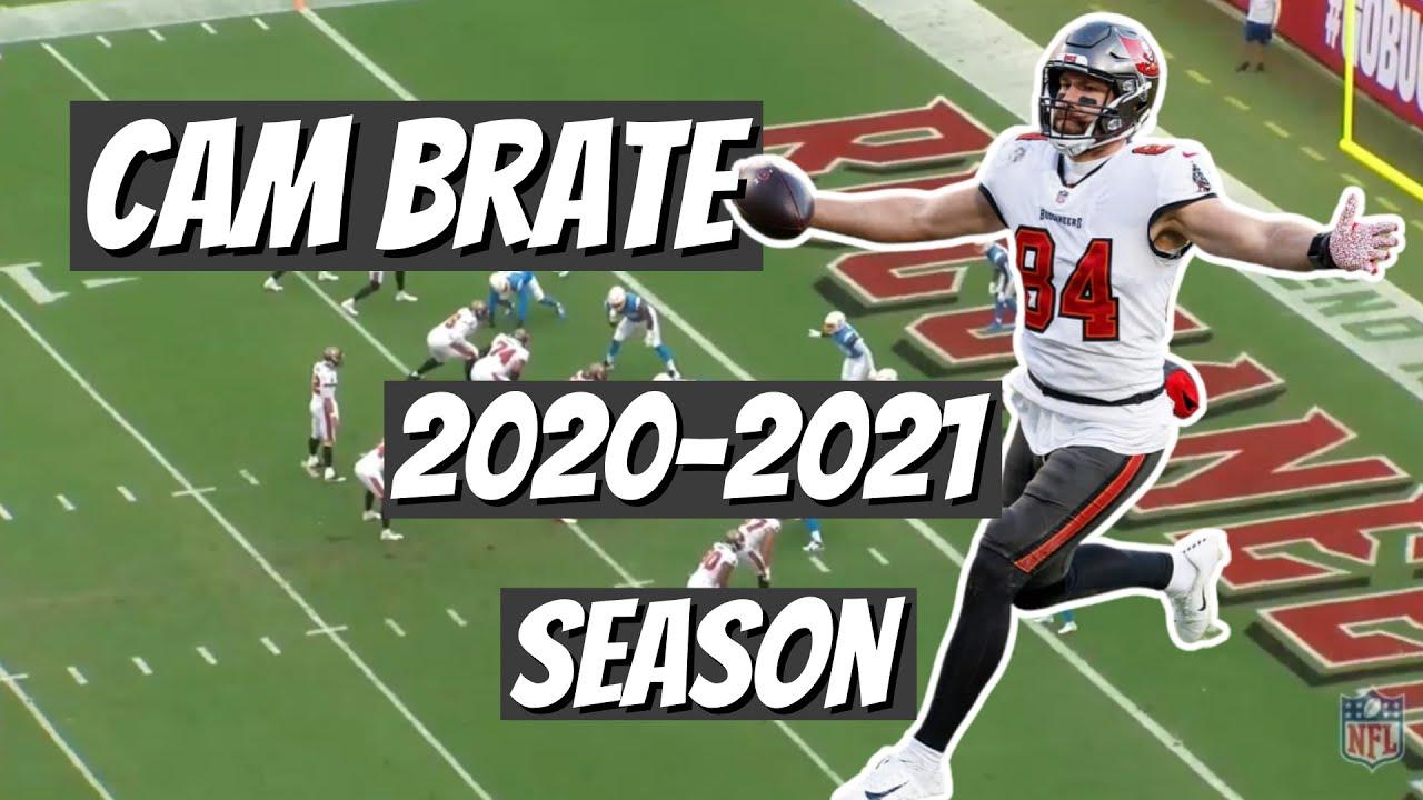 Buccaneers Cameron Brate 2020-2021 Season| Real Bucs Talk Film Study