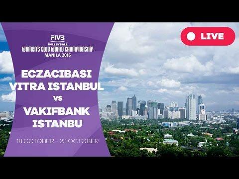Eczacibasi VitrA Istanbul v VakifBank Istanbul - Women's Club World Championship