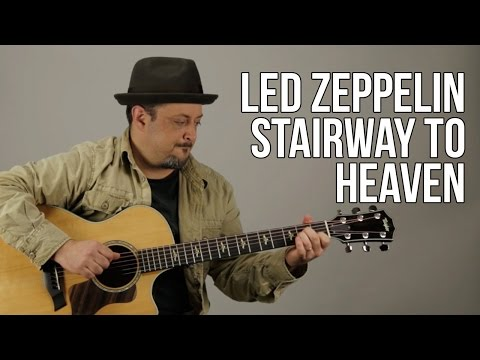 Stairway To Heaven Led Zeppelin Guitar Lesson + Tutorial