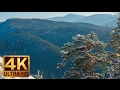 Winter in the Carpathians - 4K Relaxation Video & Soothing Music | Carpathian Mountains in Ukraine
