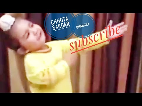 dance bhangra on laung lachi movie song by little sardar as child age dame tu cosita diljit dosanjh
